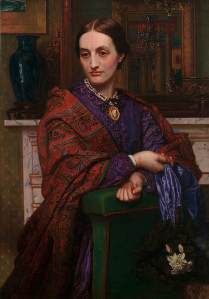 Painting - Fanny Waugh Hunt by William Holman Hunt