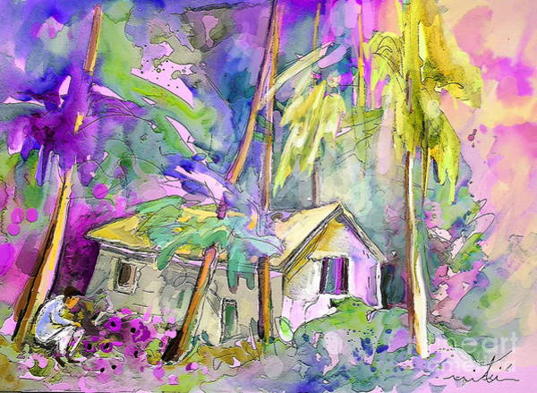 Painting - Fantaquarelle 08 by Miki De Goodaboom