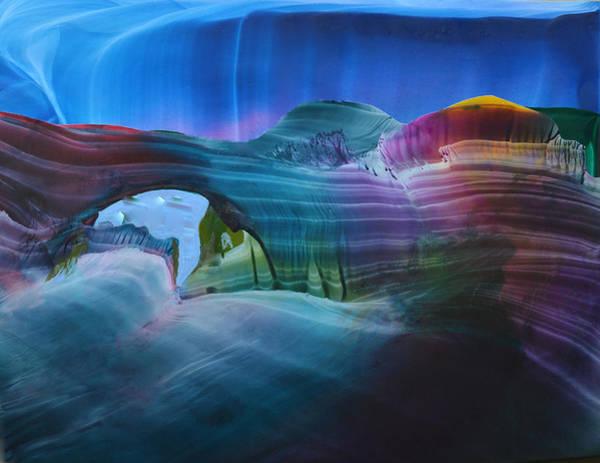 Canyon Mixed Media - Fantasy Entrance by Maureen Thulin