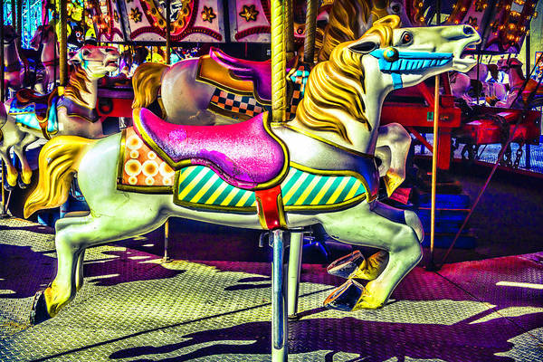 Photograph - Fantasy Fair Horse Ride by Garry Gay