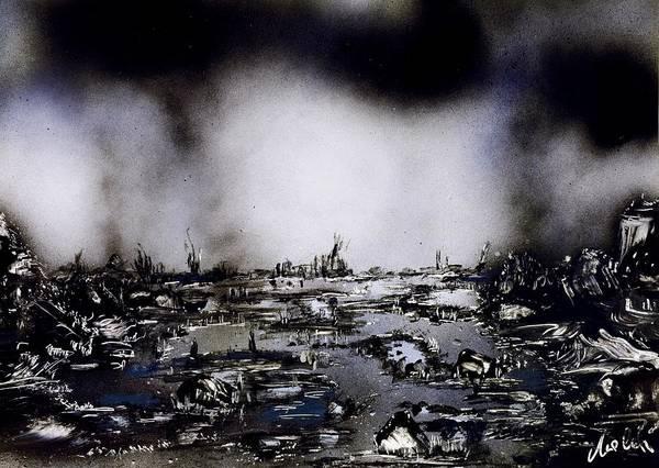 Wall Art - Painting - Fantasy Storm by Nandor Molnar