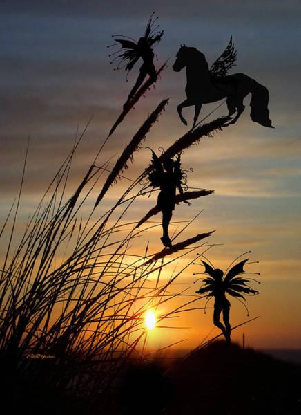 Photograph - Fantasy Sunset by Ericamaxine Price