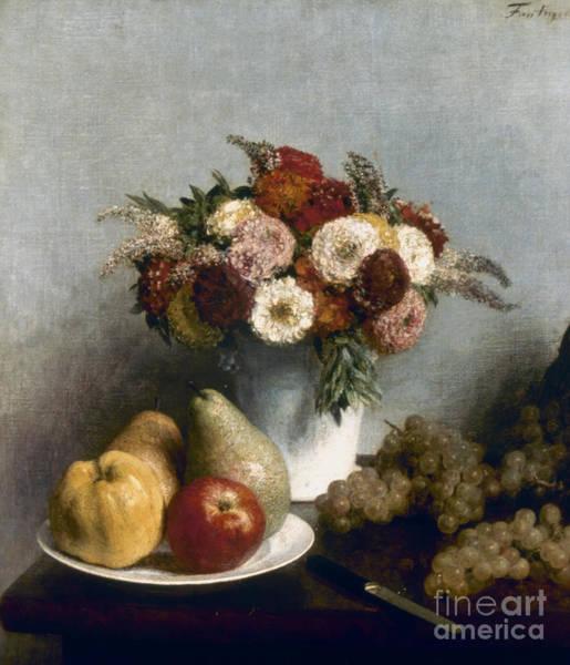 Photograph - Fantin-latour: Fruits, 1865 by Granger