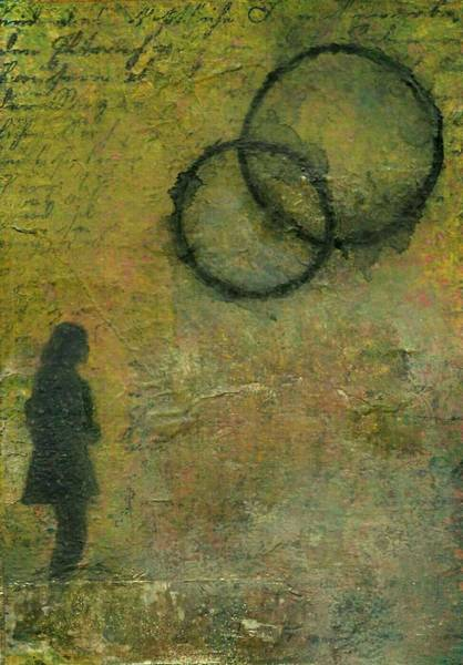 Transfer Mixed Media - Far Away by Natalie Ricker