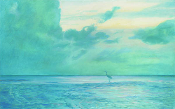 Painting - Far Bird by Rachel Ramm Woodward