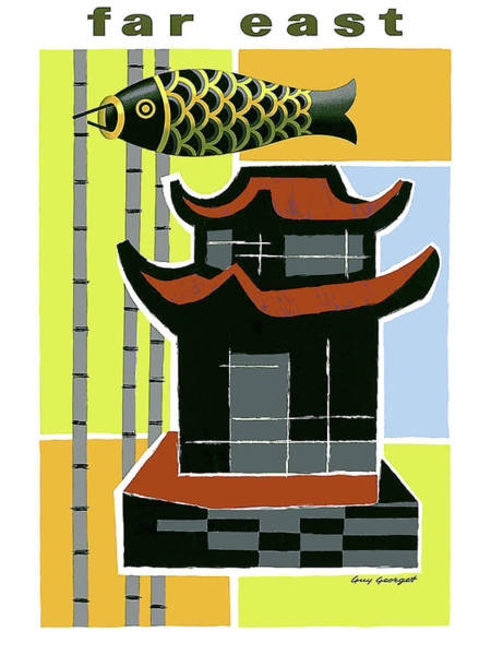 Wall Art - Painting - Far East by Long Shot