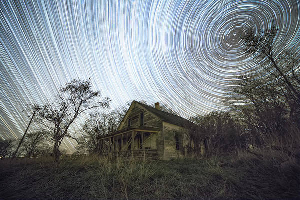 Abandoned House Wall Art - Photograph - Far Out by Aaron J Groen