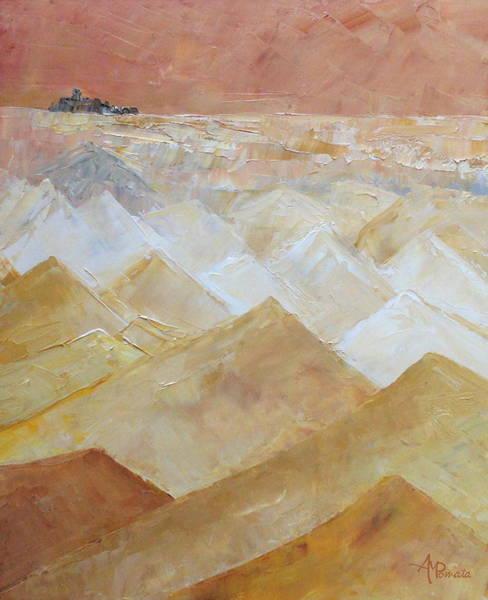 Painting - Faraway Horizon by Angeles M Pomata