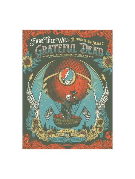 Fare Thee Well Art Print