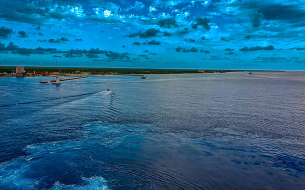 Photograph - Farewell Cozumel by John M Bailey