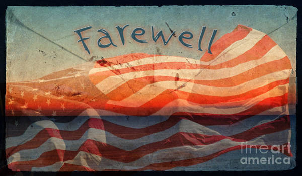 Wall Art - Photograph - Farewell by John Stephens