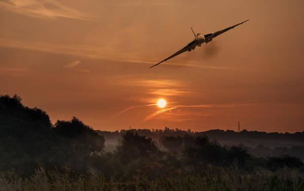 Vulcan Bomber Photograph - Farewell My Summer Love by Jason Green