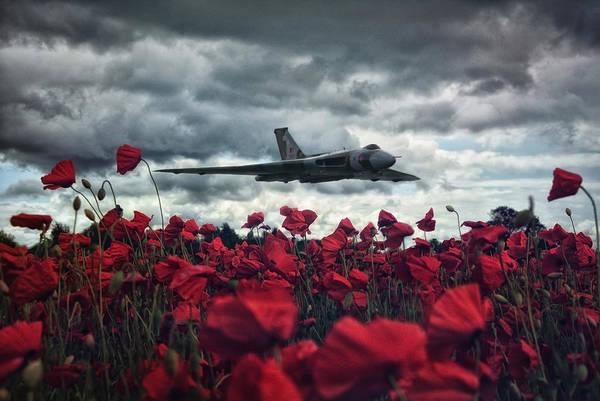 Vulcan Xh558 Wall Art - Photograph - Farewell To The Spirit Of Great Britain  by Jason Green