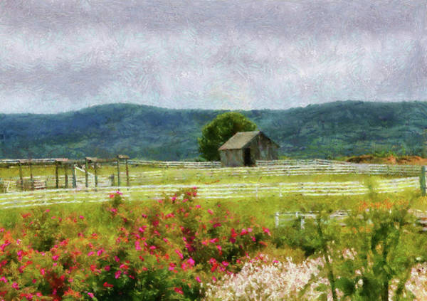 Middle Of Nowhere Photograph - Farm - Barn - Out In The Country  by Mike Savad