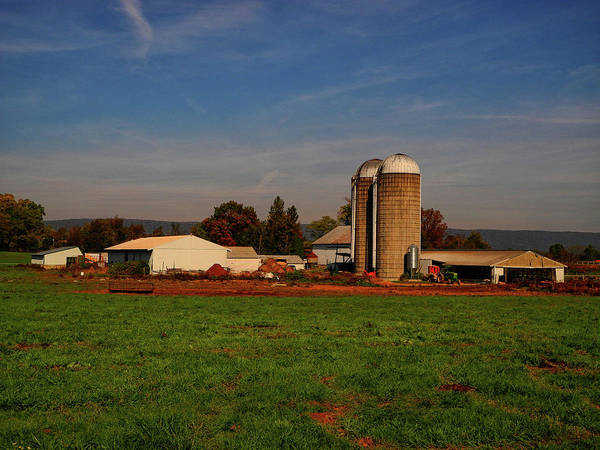 Photograph - Farm Along Pa At 4 by Raymond Salani III
