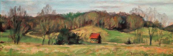 Wall Art - Painting - Farm Country by Bonnie Mason