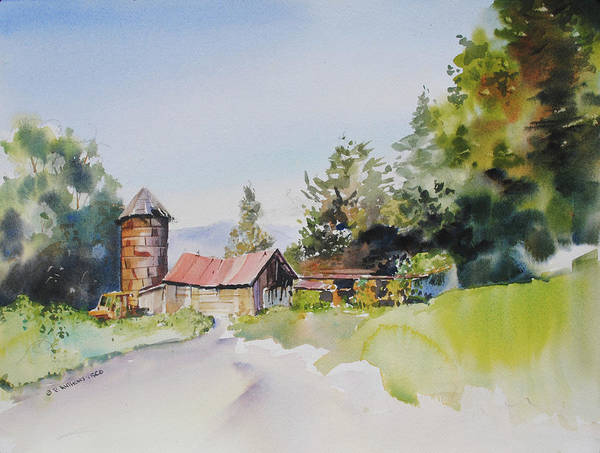 Painting - Farm Country by P Anthony Visco