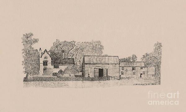 Farm Dwellings Art Print