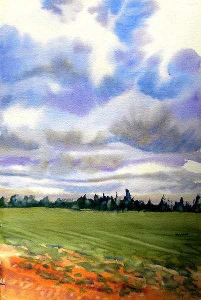 Prince Edward Island Painting - Farm  Field P.e.i. by Patricia Bigelow