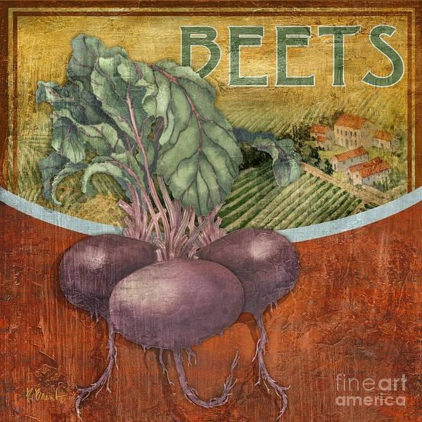 Fresh Painting - Farm Fresh Beets by Paul Brent