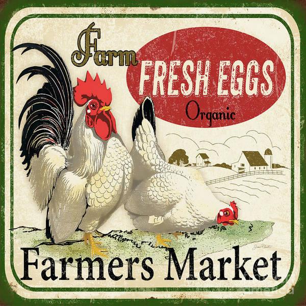 Wall Art - Digital Art - Farm Fresh Eggs-b by Jean Plout