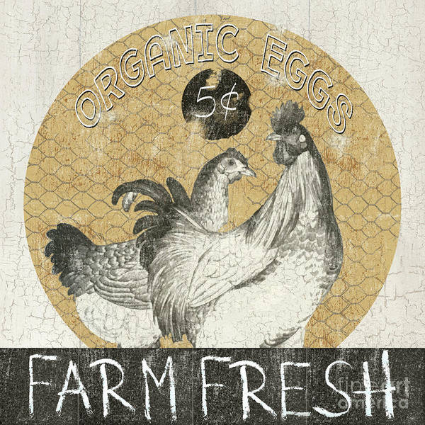 Egg Mixed Media - Farm Fresh by Marilu Windvand