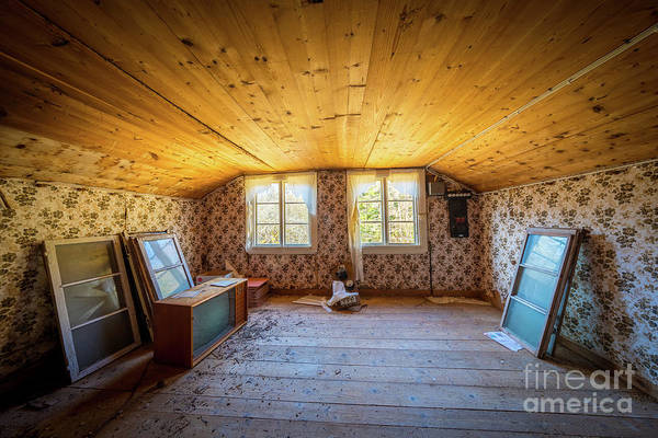 Photograph - Farm House Room by Inge Johnsson