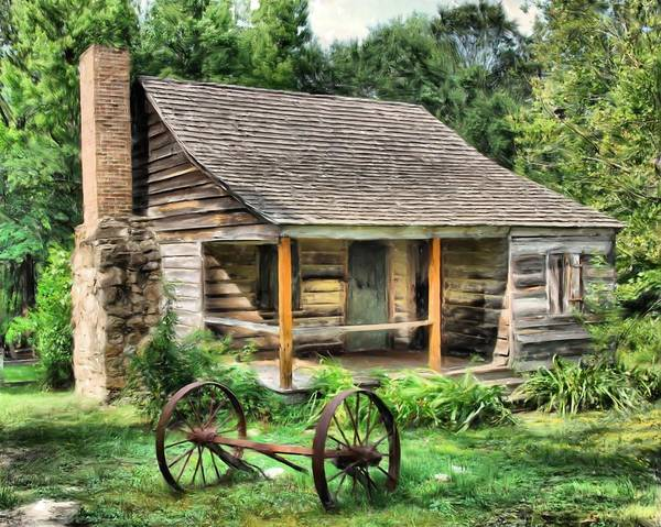 Old South Painting - Farm House by Steven Richardson