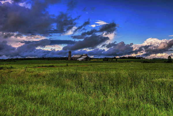 Photograph - Farm In Front Of The Storm by Dale Kauzlaric