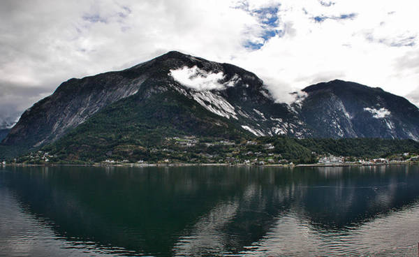 Photograph - Farm Inth Fiords by David Resnikoff