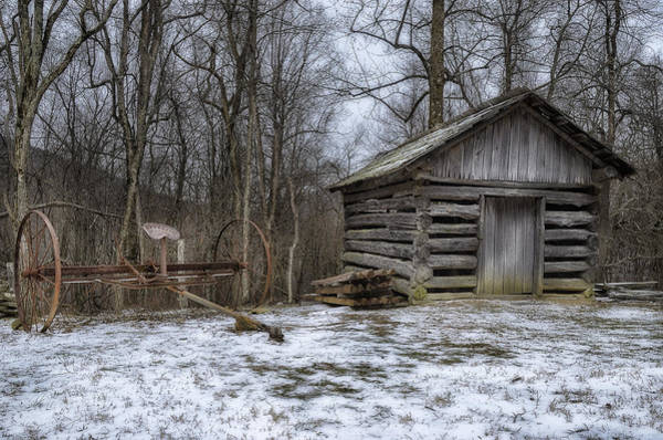 Wall Art - Photograph - Farm Life From The Past by Steve Hurt