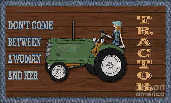 Wall Art - Painting - Farm Life-jp3231 by Jean Plout