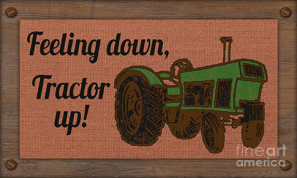 Wall Art - Painting - Farm Life-jp3240 by Jean Plout
