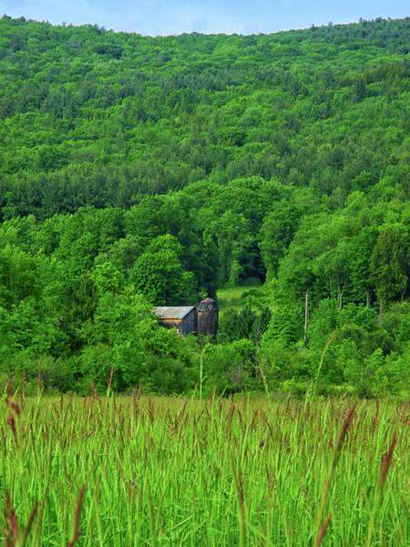 Photograph - Farm On The Hillside  by Raymond Salani III