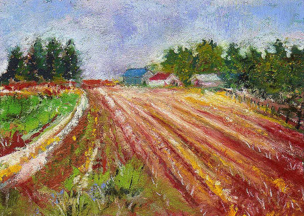 Painting - Farm Rows by David Patterson