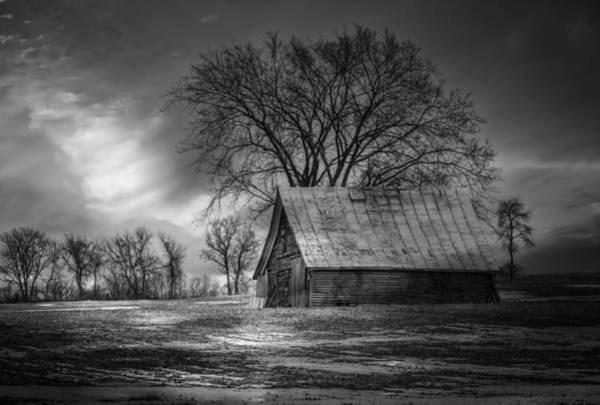 Wall Art - Photograph - Farm Shed 2016-2 by Thomas Young