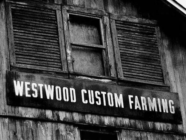 Wall Art - Photograph - Farm Sign by Michael L Kimble