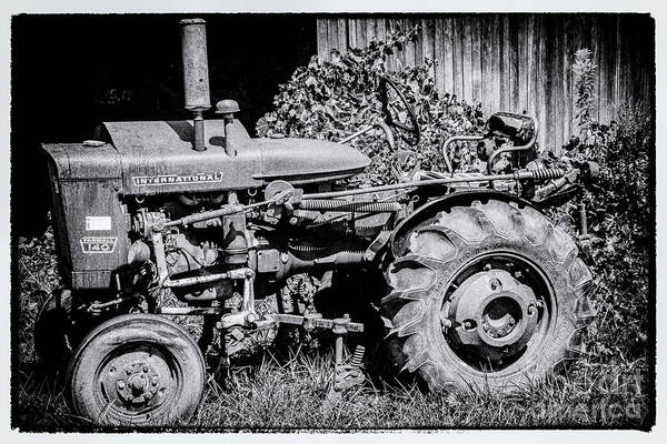 Photograph - Farm Tractor by William Norton