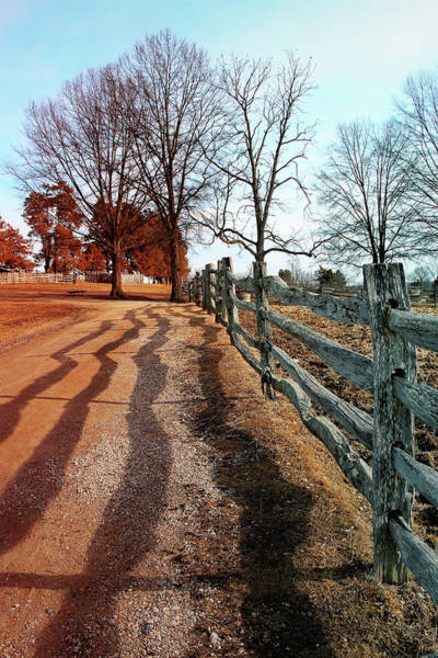 Vernon County Photograph - Farm Trail by Iryna Goodall