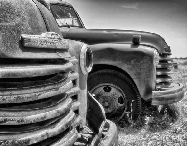 Photograph - Farm Truck by Russell Pugh