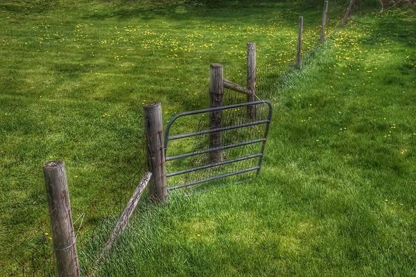 Photograph - 6002 - Farm Yard Fence by Sheryl Sutter