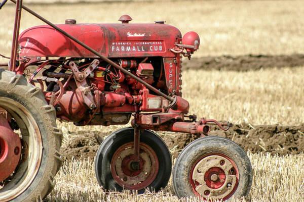 Mccormick Photograph - Vintage Farmall Cub Tractor by Richard Nixon