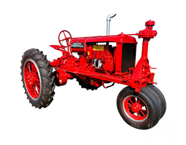 Manufacturers Photograph - Farmall F20 by Olivier Le Queinec