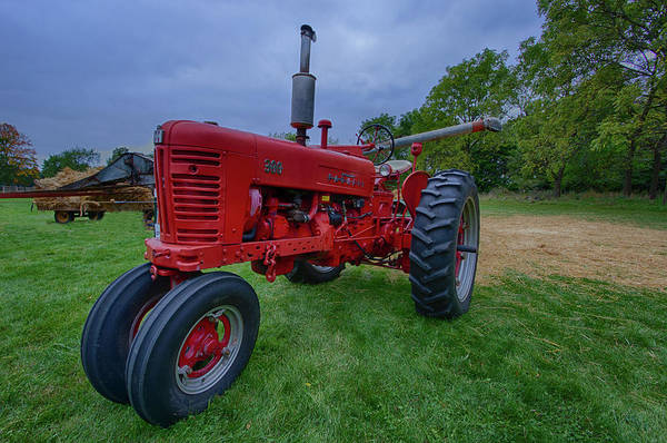 Wall Art - Photograph - Farmall Tractor by Mike Burgquist