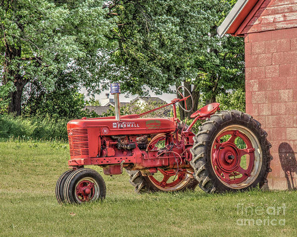 Photograph - Farmall Tractor by Rod Best