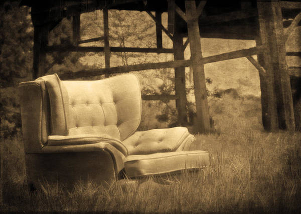 Photograph - Farmchair by Hal Halli