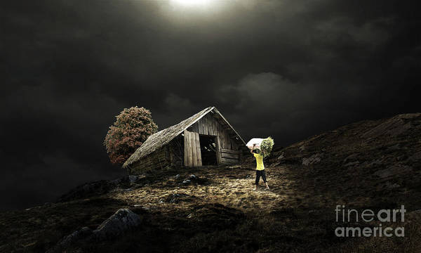Photograph - Farmer Cottage by Sajid Ch