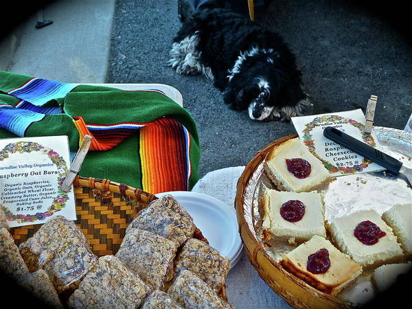Photograph - Farmer's Market Booth by Diana Hatcher