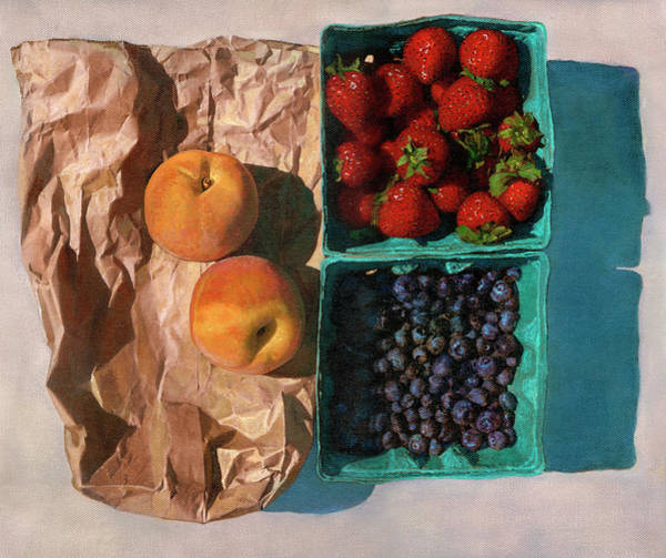 Painting - Farmers Market by John Dyess