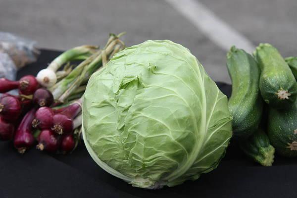 Moberly Photograph - Farmer's Market by Kathy Cornett